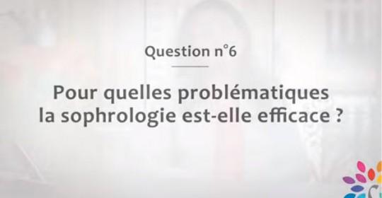 Pour quelles problématiques la sophrologie est-elle efficace ?